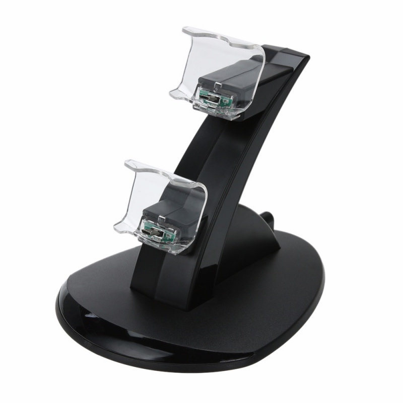 LQJP Dual Fast Charging Dock Station Stand Charger for Sony PS4/Slim/Pro Controller Charger Stand Docking Station