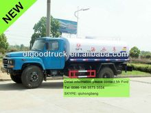 170hp 4x2 Dongfeng 10000L Water Tanker with Sprinkle 0086-13635733504