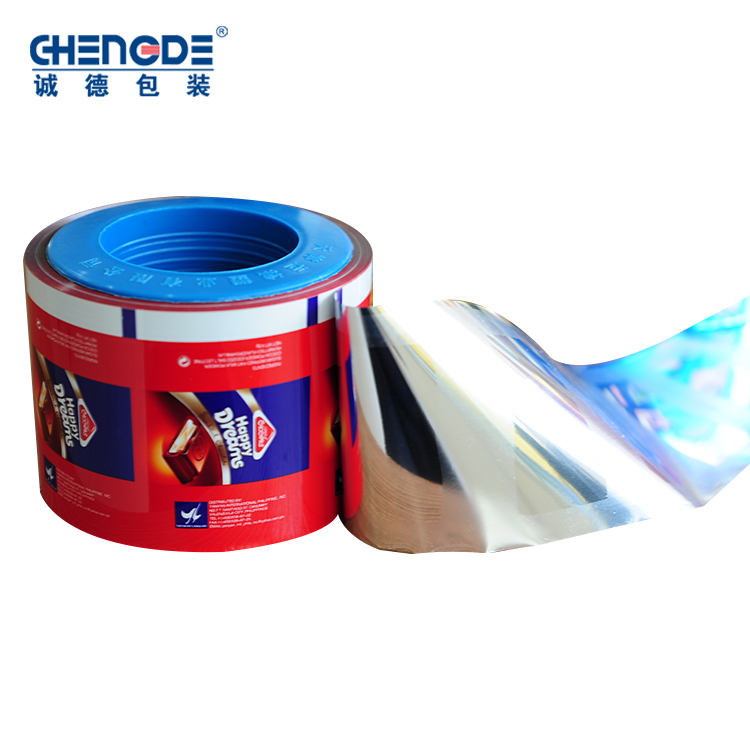plastic foil packaging roll film,chocolate plastic packaging film,roll stock film for chocolate packaging