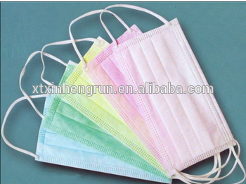 Disposable 3 ply Non-woven face mask with FDA
