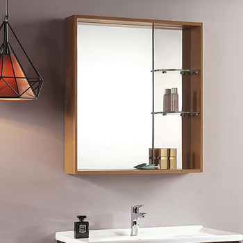 high quality new fashion wooden wash basin mirror cabinet