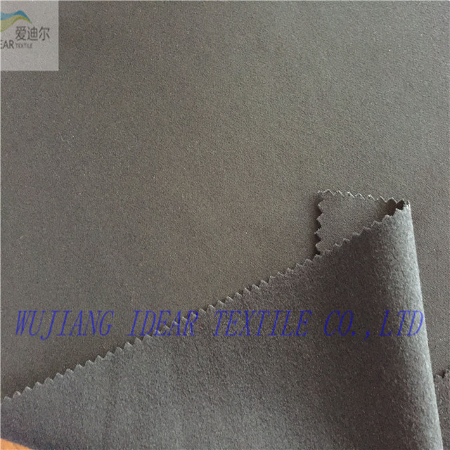 Tencel polyester elastic fabric