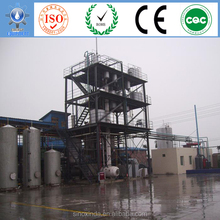 Complete biodiesel production line processing algae biofuel used in cars