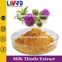 Milk Thistle Extract 80% Silymarin for Liver Detox