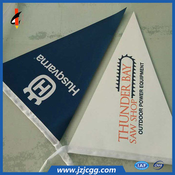 High quality custom size bunting advertising flag printing for display
