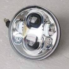 24 Months warranty hi/lo beam harley motor H4 headlight 5.75 inch for sale