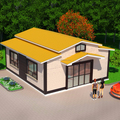 Steel Structure House modern container house/prefab house villa