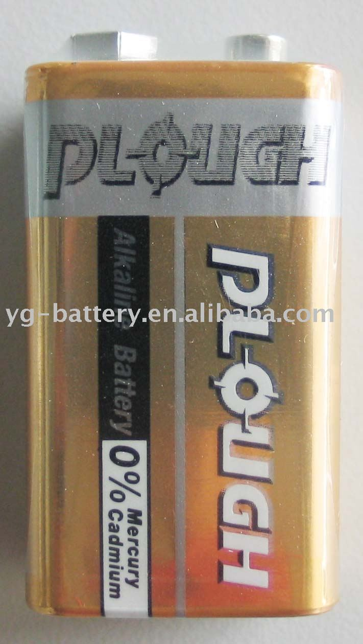 super alkaline battery 9V size (6LR61) 6LF22