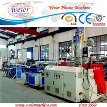 PP PE single double wall plastic corrugated plastic pipe making machine