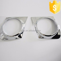 New arrival ABS plastic fog light cover for Mitsubishi L200 Triton 2015 chrome car lighting accessories