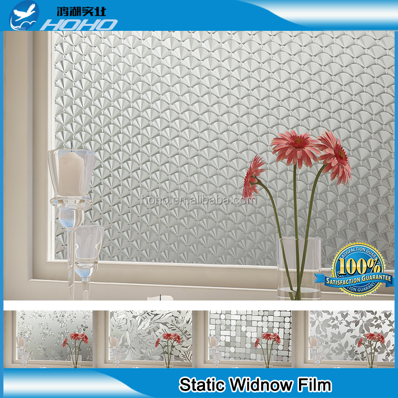 92cm x25m Static Cling Sandblast Frosted Removable Privacy Window Glass Film