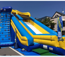 Promotional New water park supplies cheap commercial big inflatable water park slides for sale