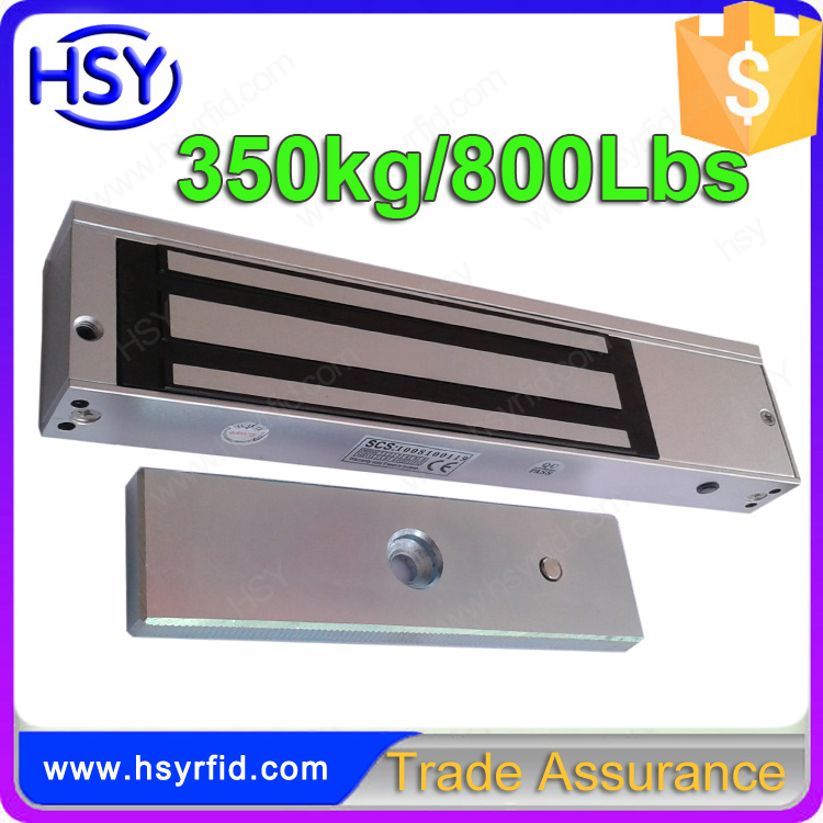 350kgs 800Lbs Electromagnetic Door Lock with lock sensor
