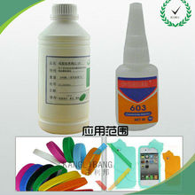 Silicone instant Adhesive/sealant Fast drying adhesive for Nylon