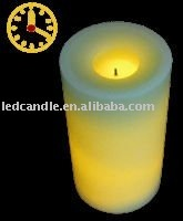 LED Flameless Wax Candle With Timer Function