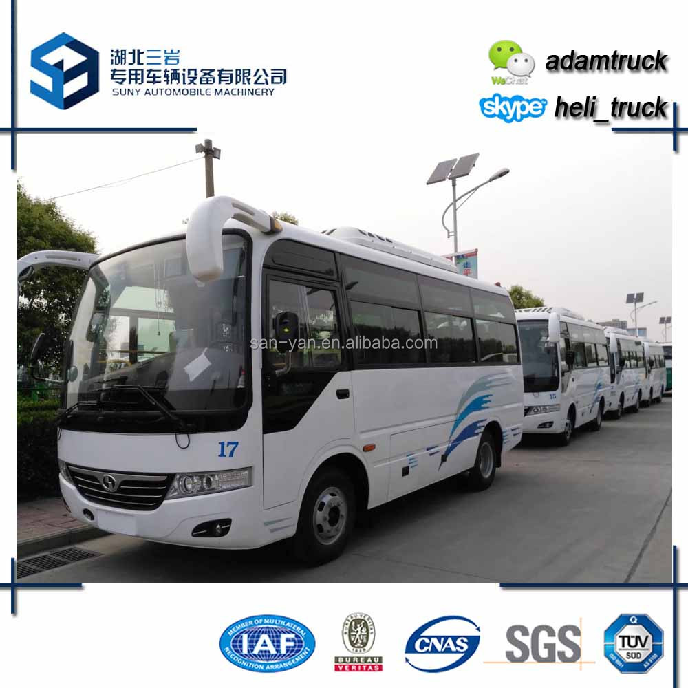 China cheap bus 4x2 City minibus 24 seats Bus