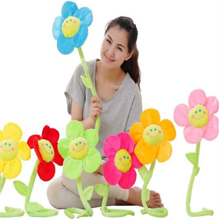 2015 32cm New Arrival Hot Sale SunFlower <strong>Plush</strong> & Stuffed Toy As Child's good Partner Kawaii The Best Gift Free Shipping