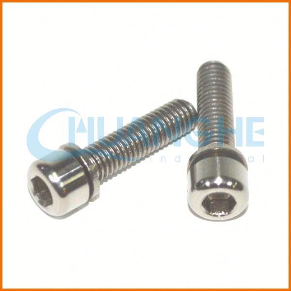 Alibaba China Fasteners discount metric m7 titanium bolt