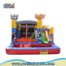 Games tom & jerry inflatable boucy castle,cartoon bounce houses for sale,Kids jumping castle inflatable