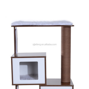 New style cat tree house of MDF