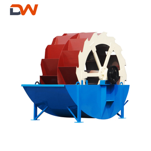 Mini Wheel bucket type Sand Washer Machine for Gravel River sand washing with low price