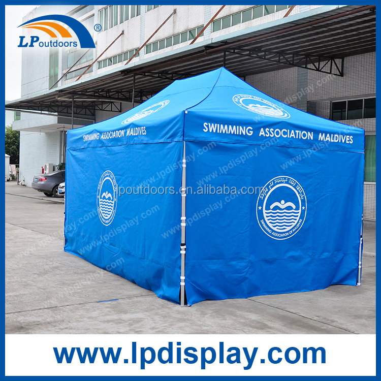 Aluminum frame 10x20 EZ up canopy tent for outdoor event