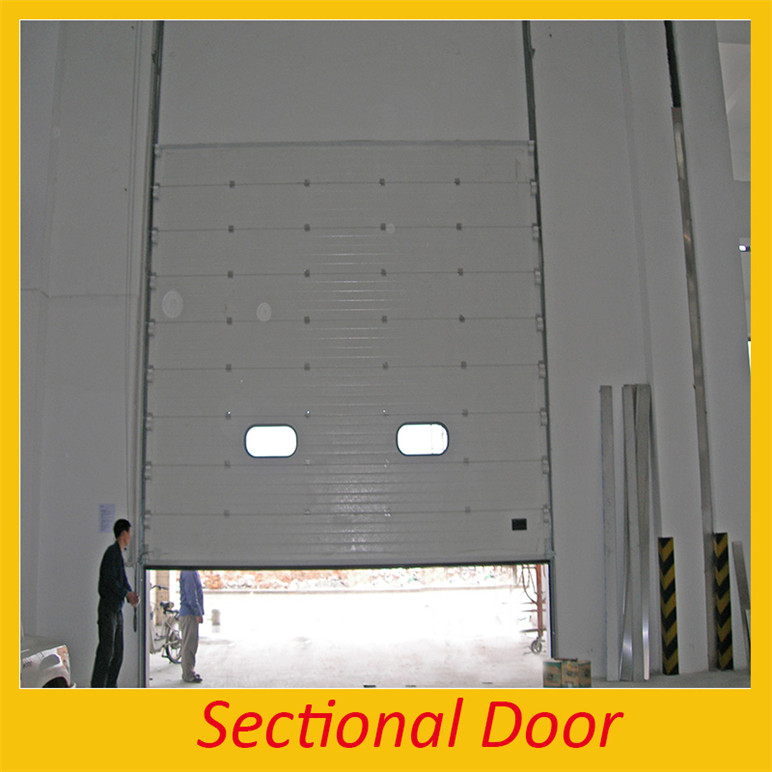 Polycarbonate transparent roller shutter door steel security door