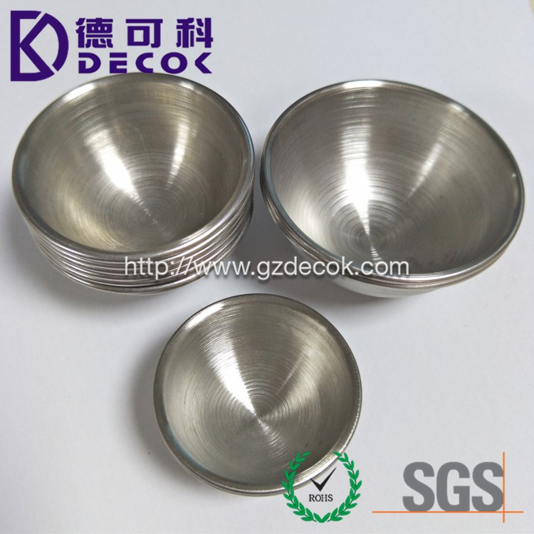 DIY 3 Sets 304 Stainless Steel Half Sphere Bath Bomb Mold