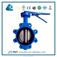 LT-type wafer lug butterfly valve