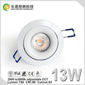 TUV SAA Lepu Cutout 83mm cob led downlight super dimming
