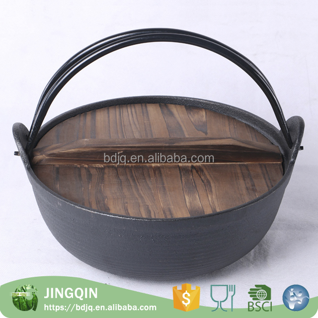 Professional japanese camping cookware picnic bowl pot pan set