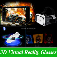 Factory Wholesale OEM Available Google Cardboard VR Headset BOX II 2.0 Oculus Rift DK2 Upgraded Virtual Reality 3D Video Glasses