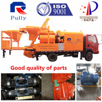Concrete Mixer Pump Truck with Commins Generator