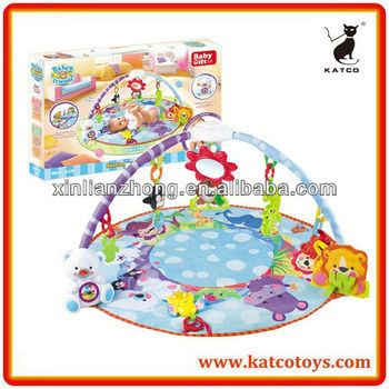 Hot Sale Baby's Friends Deluxe Musical Activity Gym Multi-function Play Mat for Baby