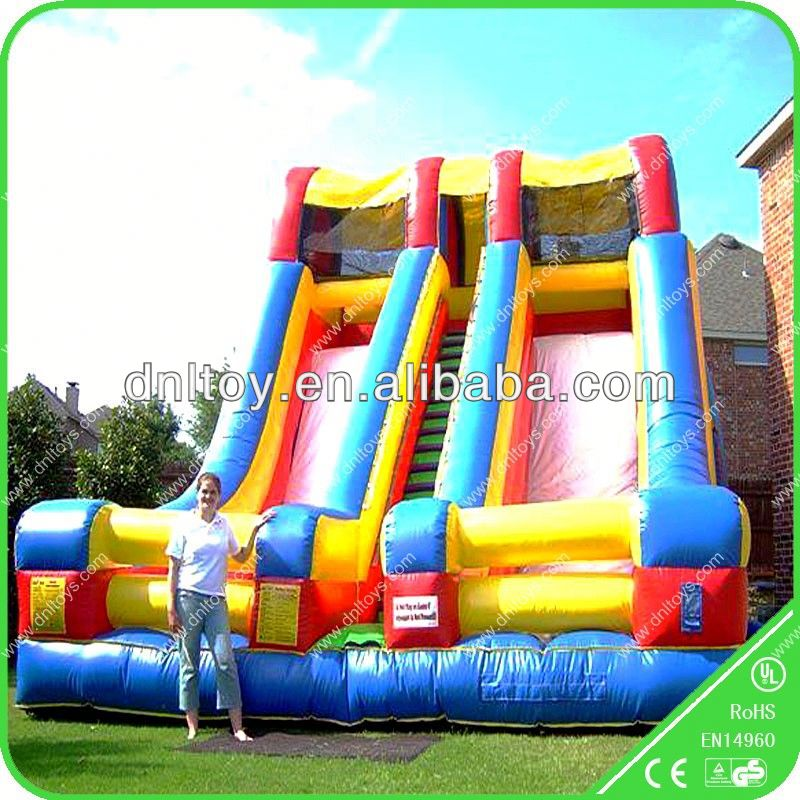 Hot giant inflatable water slide/ inflatable slide /lake inflatable water slides