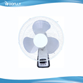 Hot Sale & High Quality home appliance remote control 16 inch wall fan