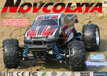 2.4G RC Car 1/18th Full Scale 4x4 Racing Fast with Super Electric Power Remote Control RC Pickup Truck