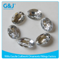 Guojie brand wholesale Point back 13*18mm goods crystal gem acrylic stone