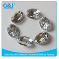 Guojie brand wholesale Pointback 13*18mm goods crystal gem acrylic stone