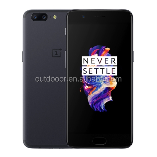 Original factory unlocked OnePlus 5 Five 6GB+64GB Fingerprint 5.5 inch NFC 20MP 4G smartphone Oneplus5 oneplus five mobile phone