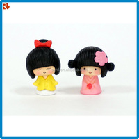Latest design best sale oem miniature baby girl doll figures