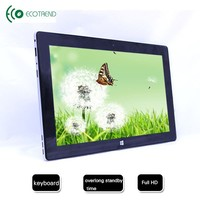 "11.6"" quad core multi-function golden Dual system tablet"