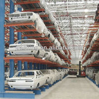 Warehouse Solution, Storage System for Cars, Cantilever Racks