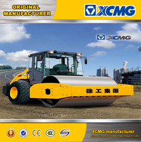 XCMG official manufacturer XS142J 14ton rubber tire road roller for sale