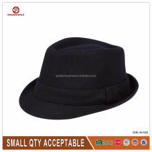 man's Classic Manhattan Structured Gangster Trilby Fedora Hat