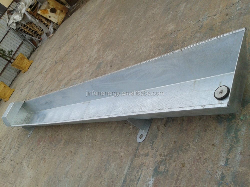 galvanized cattle / sheep water trough