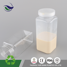 Malaysia kuala lumpur companies beverage packing pet jars for tea beverage storage beer bottle plastic case