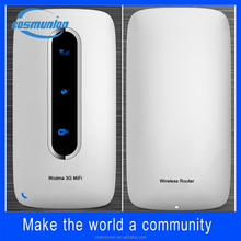 3000 mAh 3G wireless pocket wifi router with sim card slot
