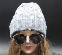 wholesale grey black acrylic wool cashmere womens mens winter knitted beanie hats