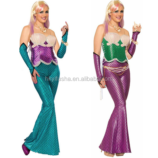 Fancy mermaid costumes Halloween costumes